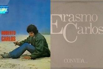 Capa dos álbuns Roberto Carlos (1969)/Erasmo Convida