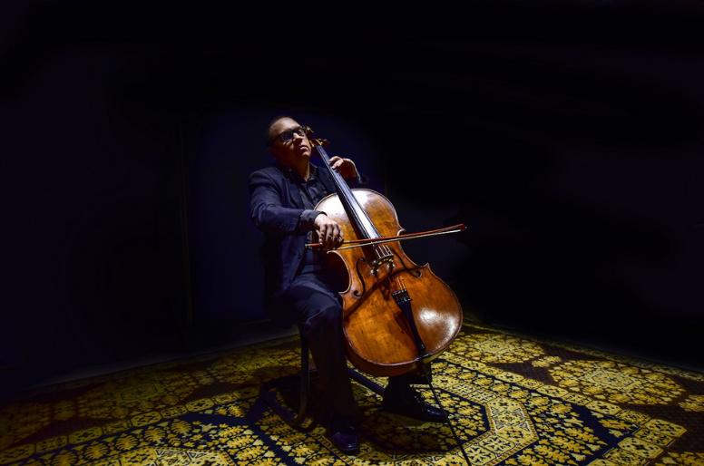 Capa do Disco Violoncelo Solo de Mauro Brucoli