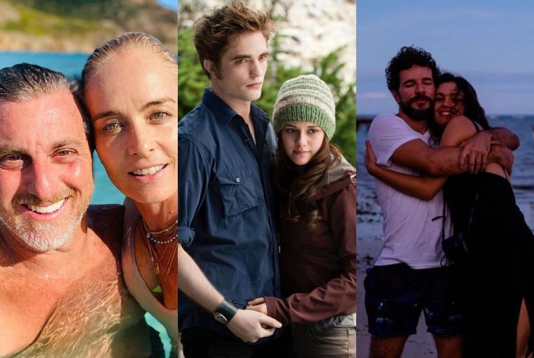 Reprodução/Instagram Luciano Huck, Twilight Saga e Sophie Charlotte