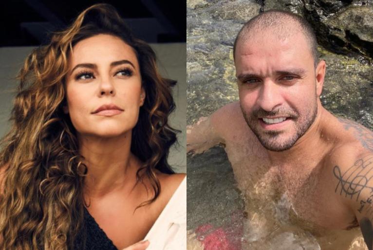 Reprodução/Instagram Paolla Oliveira e Diogo Nogueira