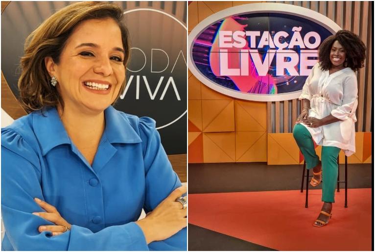 Reprodução/Instagram Vera Magalhães e Cris Guterres