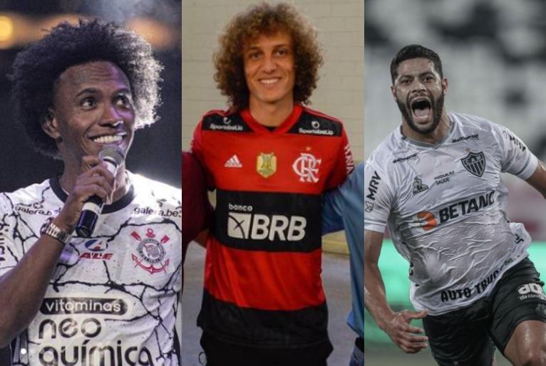 Reprodução/Instagram Willian Borges Da Silva, Flamengo e Clube Atlético Mineiro